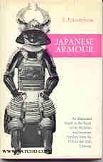 AR010: Japanese armour - An illustrated guide to the work of the Myochin and Saotome Families from the 15th to the 20th Century (1968)